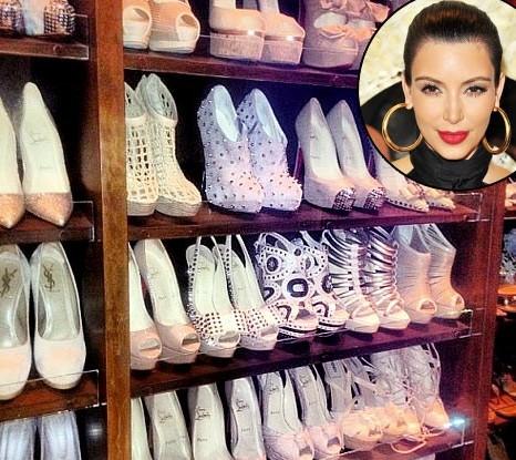 明星欧式鞋柜图片大全