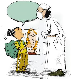 印建坤:10篇考研英语经典漫画作文