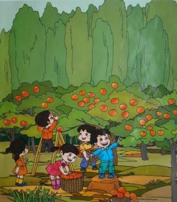 小学四年级英语作文:the colour of autumn秋天的色彩