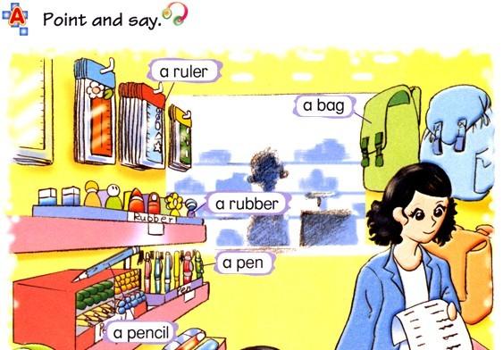 朗文�yan_小学一年级英语(深圳朗文版)上册 unit 3 my classroom-g