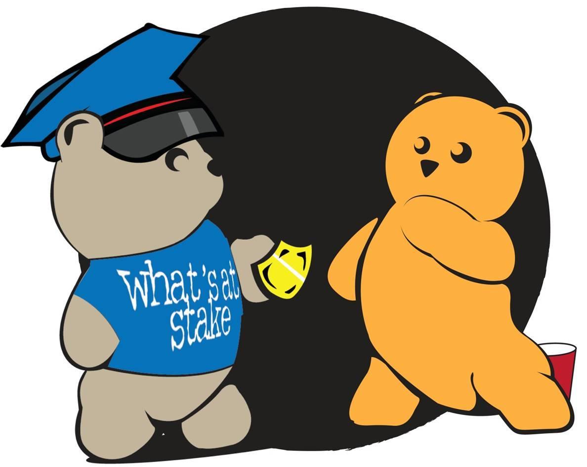 关键词:短语释义:今天的图片上有两只可爱的小熊,左边那个是一位警察