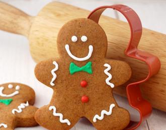 圣诞节新年英语儿歌:gingerbread