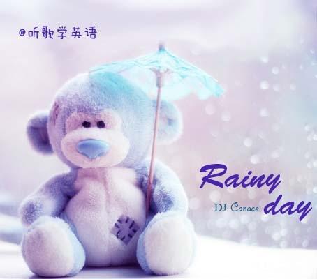 下雨听歌的唯美头像