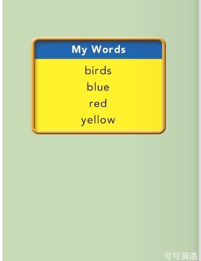 英文色情网_少儿英语学单词幼儿级 第6课:鸟 birds