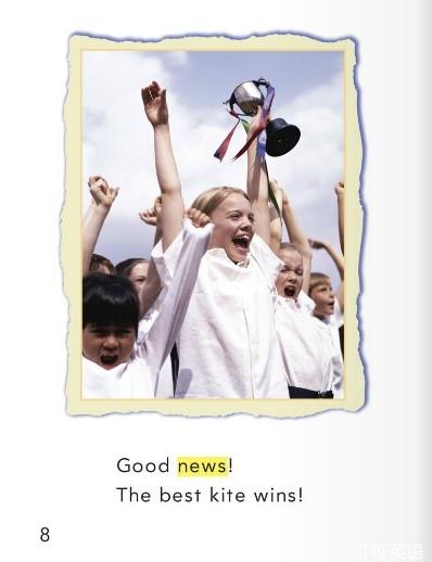 少儿英语学单词一年级 第15课 放风筝的好天气图片