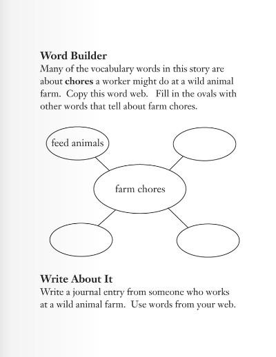 少儿英语学单词三年级 第12课:野生动物农场