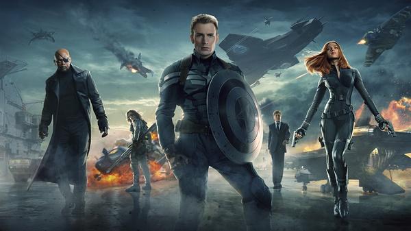 《美国队长2》超级英雄遭遇谍影重重