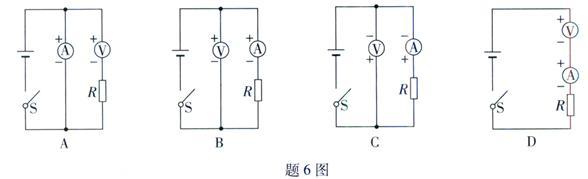 六、综合能力题(本大题3小题,共18分) 21.(6分)某同学利用题21-1图的电路来测量一未知电阻Rx  (1) 请用笔画线代替导线,将题21-1图中实物电路连接完整 (2) 闭合开关后,当滑动电阻器的滑片向左移动到某一位置时,电压表的示数为1.2V,电流表的示数如图21-2图所示,则I=_________A,Rx=___________ (3) 该同学又设计了如图21-3所示的测量电路,同样可以测量未知电阻,其中是定值电阻,请在空格内把实验步骤补充完整  ____________________,用