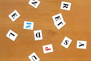 单词的拼写