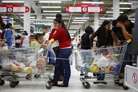新奇事件簿(翻译+字幕+讲解+试题):委内瑞拉的购物者需要按指纹
