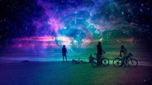 一生所获不如一场星空