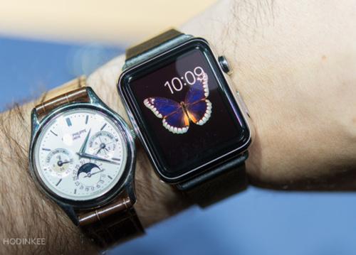 手表达人眼中的苹果手表