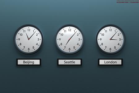 世界各地的时差问题