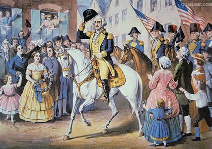 第1届美国总统:乔治·华盛顿