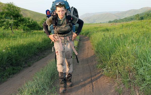 一个3年时间徒步10000英里的女人