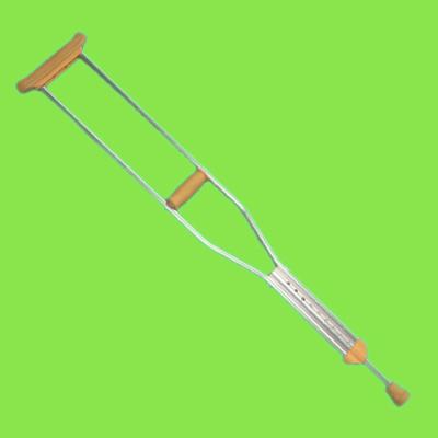 当一个人习惯了用拐杖走路以后