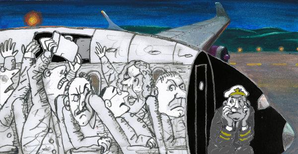 为什么人在飞机上爱发飙_双语达人_双语阅读 - 可可