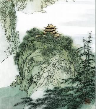 诗歌翻译:李白-《黄鹤楼送孟浩然之广陵》英文译文