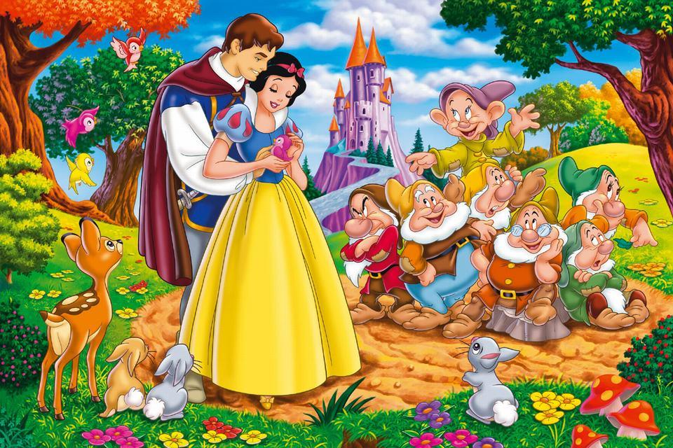 英文童话故事大全(中英双语) 第53期:白雪公主(3)
