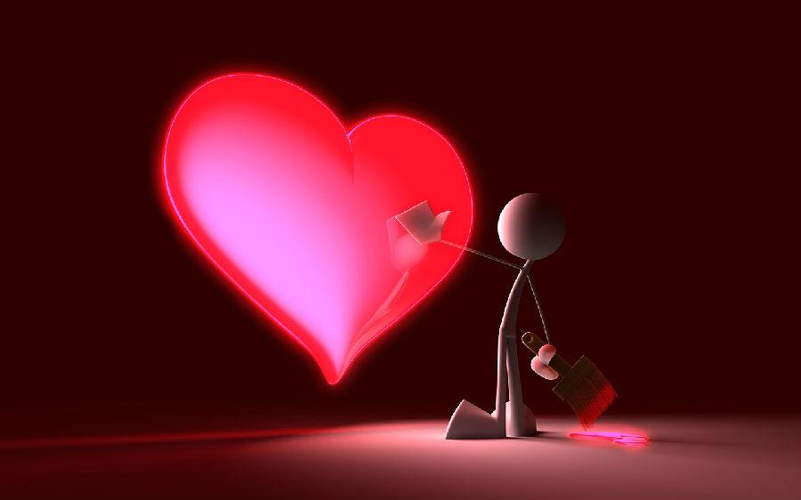 心形一直被视为爱的记号