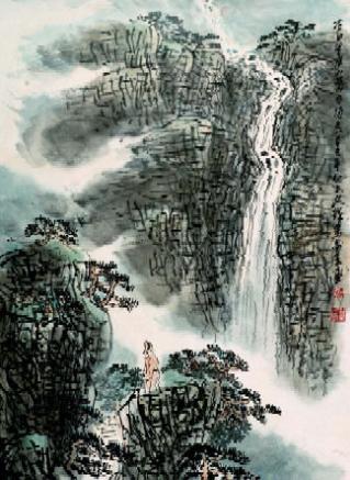 英语三级成绩_诗歌翻译:李白-《望庐山瀑布》英文译文_英汉翻译素材 - 可可英语