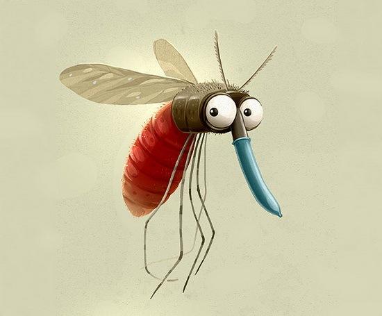 蚊子是世界上最讨厌的害虫