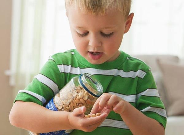 给婴儿吃花生制品能预防花生过敏