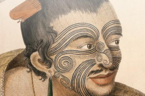 的边缘艺术:纹身