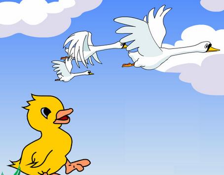 英文童话故事大全 中英双语 第88期 丑小鸭 3