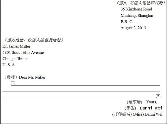 高考英语作文求职信_高考作文范例:英语书信的格式_高考英语作文 - 可可英语