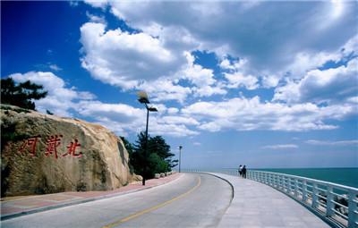 碧海中英话中国旅游第6期:北戴河主要周边与名胜景点都别墅椰双语度假村图片