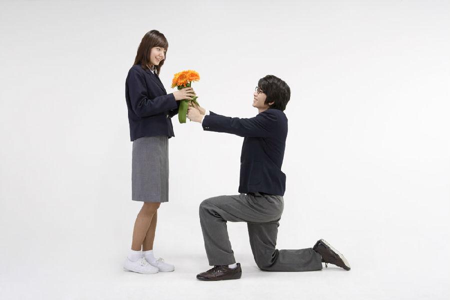 你只是突然想要送花吗