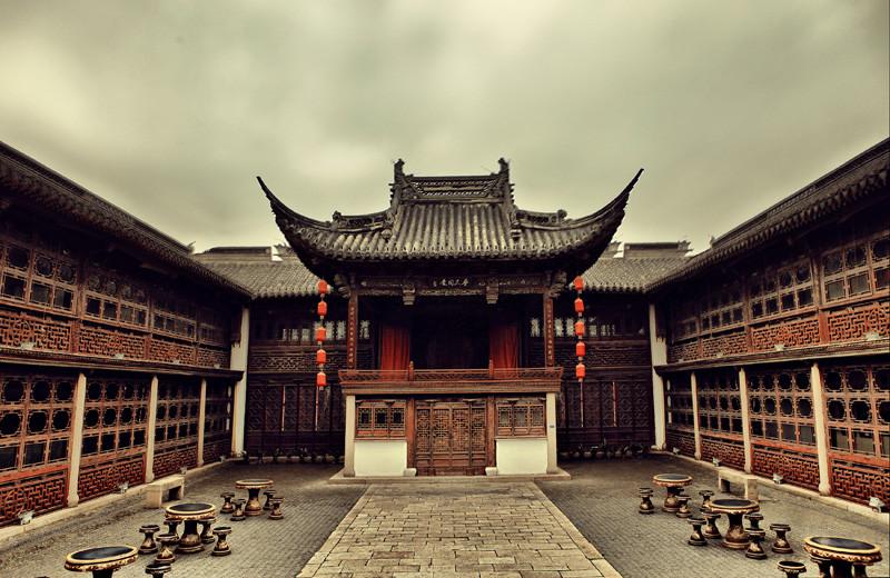 中英双语话中国民风民俗 第12期:中国建筑图片