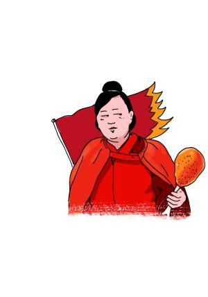 手绘恶搞中国名画