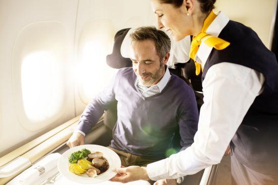 飞机上用餐英语