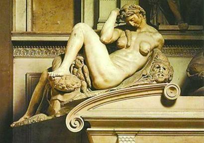 米开朗琪罗雕塑作品
