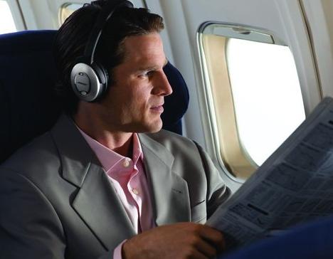 飞机上的耳机