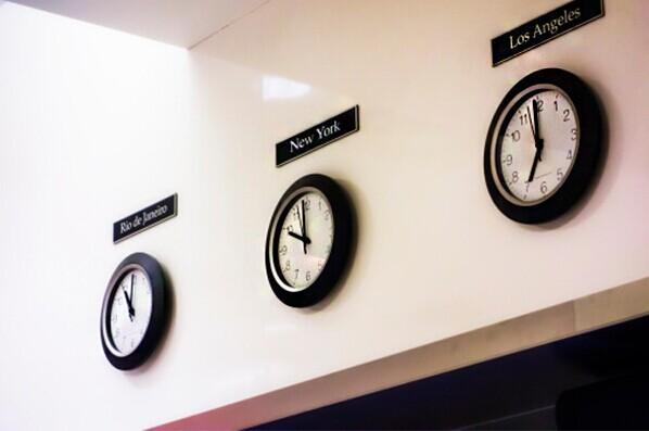 当地时间是几点?