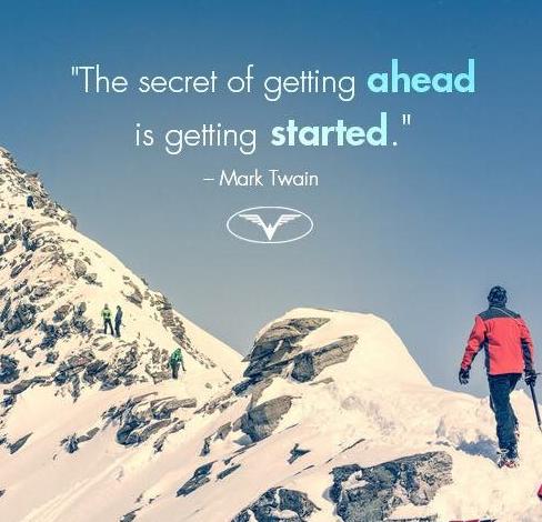 领先的秘诀就是准备开始
