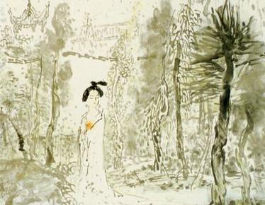 诗歌翻译 欧阳修 蝶恋花 庭院深深深几许 英文译文