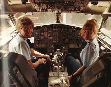 飞机上的机长广播
