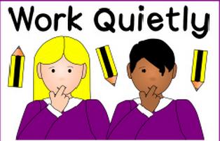 人教版小学英语 五年级下册 Unit6 Work quietly 安静地干活儿