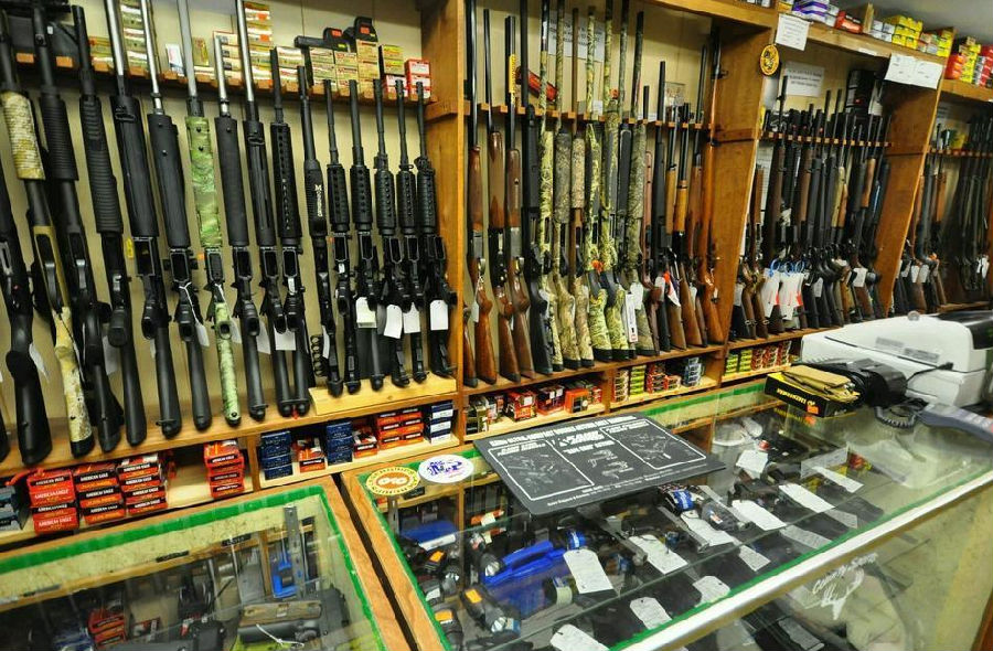 到底多少美国人有枪