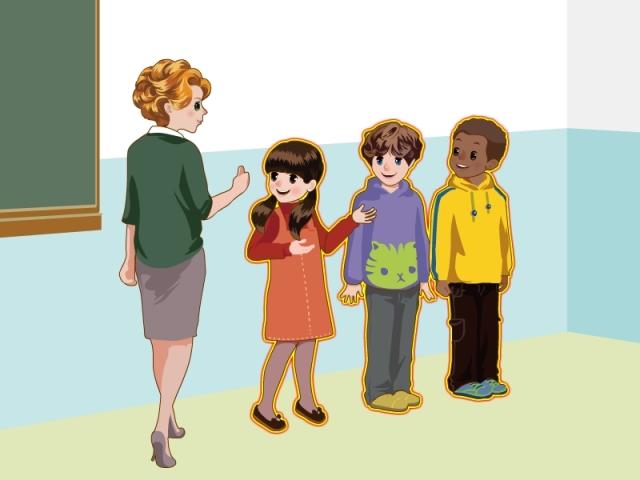 人教版小学英语五年级上册 MP3 中英字幕 第1单元