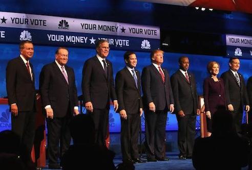 共和党总统候选人就移民问题产生分歧