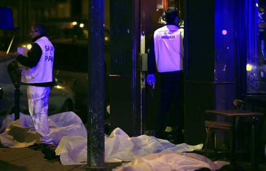 """极端组织""""伊斯兰国""""宣称对巴黎恐袭事件负责"""