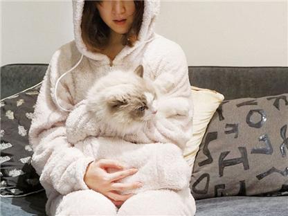 """日本""""可爱猫咪装""""成潮流新宠"""