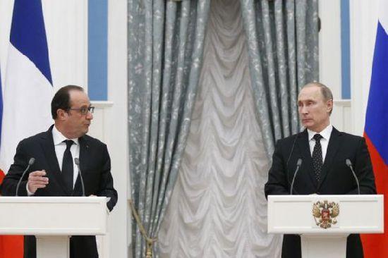 普京称土耳其明知是俄罗斯飞机仍将其击落