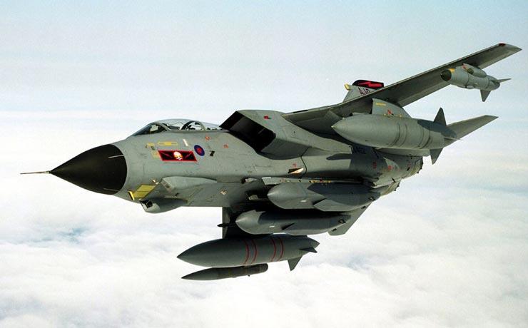 英国空军出动