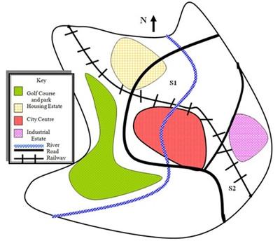 雅思写作地图题实例讲解--学生习作PK老师高分范文图2